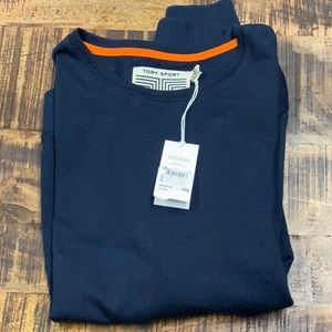 Tory Sport Cotton Cashmere Relaxed Sweatshirt